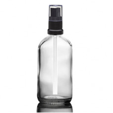 120 ml Euro Bottle With Black Sprayer