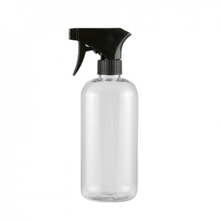 16 Oz Pet Bottle With Black Sprayer