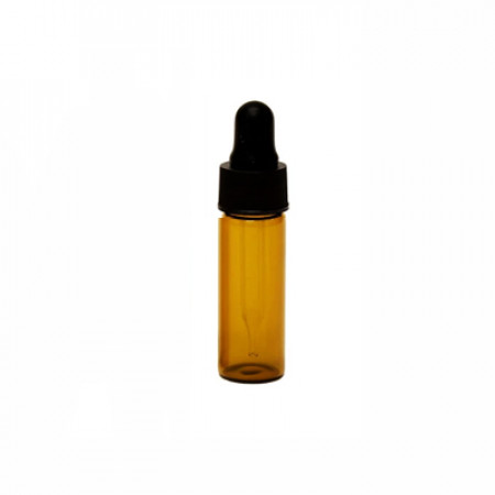 1 Dram Amber Glass Vial With Dropper