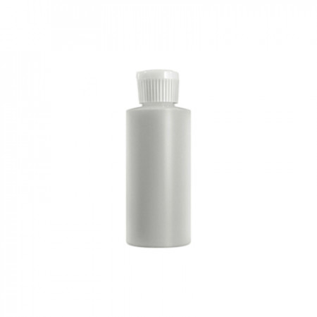 1 Oz Natural Cylinder With White Lock Top