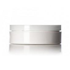 1 Oz Low Profile White Jar With Cap