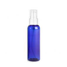 2 Oz Blue Bottle With White Treatment Pump