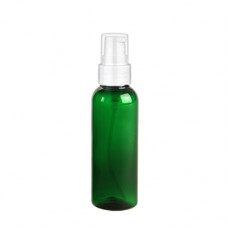 2 Oz Green Bottle With White Treatment Pump