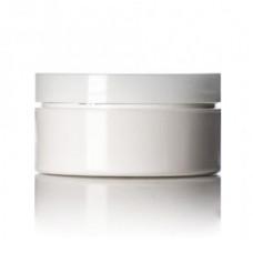 4 Oz Low Profile White Jar With Cap