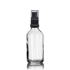 60 ml Euro Bottle With Black Sprayer