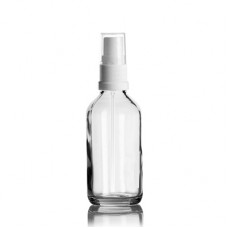 60 ml Euro Bottle With White Sprayer