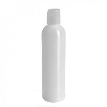 8 Oz Natural Bottle With Natural Disc Top Cap