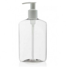 8 Oz PET Oval Bottle With Pump