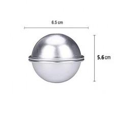 Large Aluminium Bath Bomb Mold