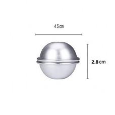 Small Aluminium Bath Bomb Mold