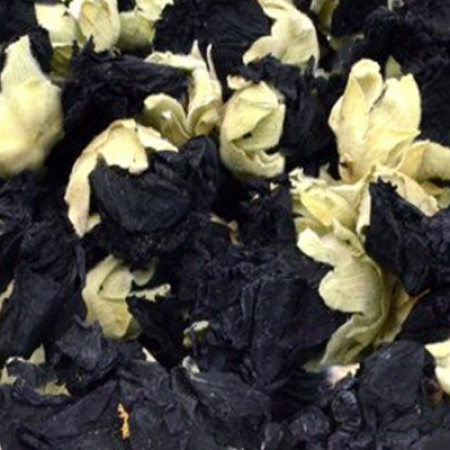 MALVA FLOWER WHOLE BLACK