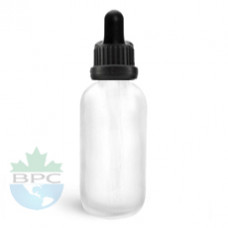 30 ml Frosted Glass Bottle With Dropper
