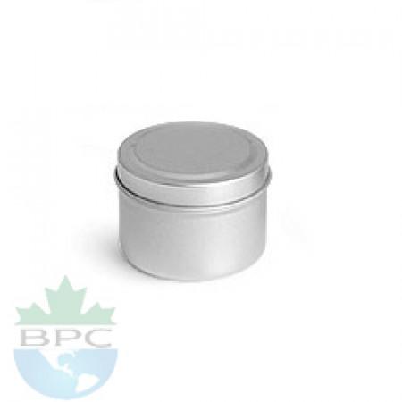 1 OZ Deep Metal Tin With Cap