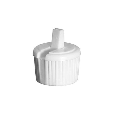 24-410 White Lock Top Cap