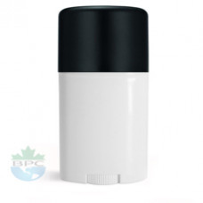 1 Oz Deodorant Tube With Black Cap