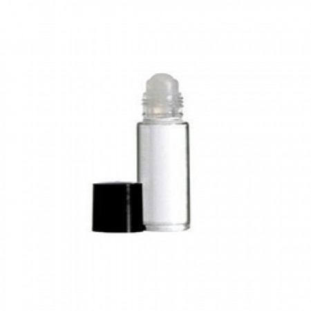 5ml Roll On Glass Bottle Plain With Cap