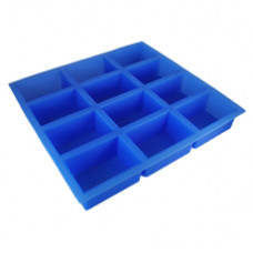 12 Cavities Reactangle Silicone Mold