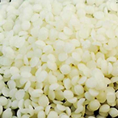 Beeswax White Beads