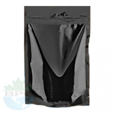 2 Oz Black Stand Up Pouch
