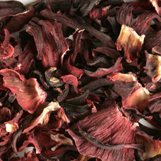 HIBISCUS FLOWER TEA CUT