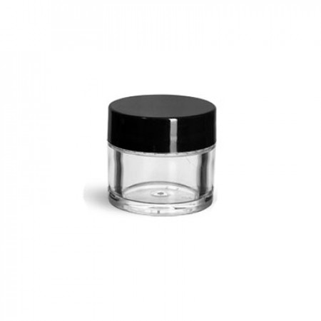 1/4 Oz Thick Wall Jar With Cap