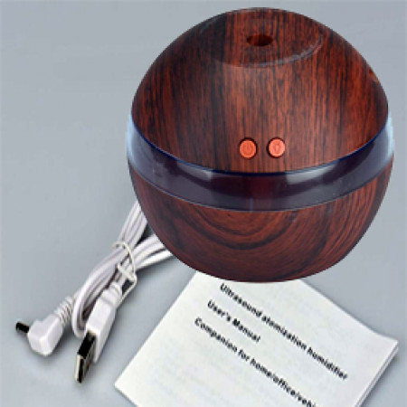 Mini Ultrasonic USB Diffuser Brown