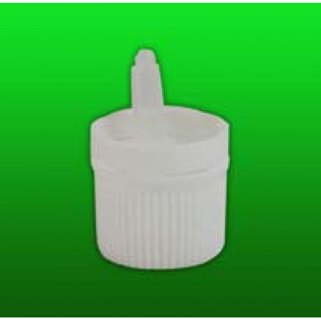 18 mm White Cap