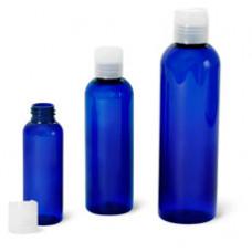 Blue Pet Bottle W Natural Disc Cap