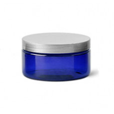 2 OZ Blue Jar With Silver Cap (60 ml)