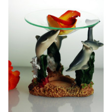 Dolphin Tealight Oil Burner